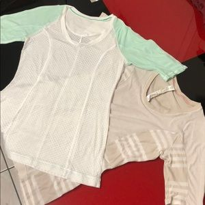 Set Lululemon top, size 4